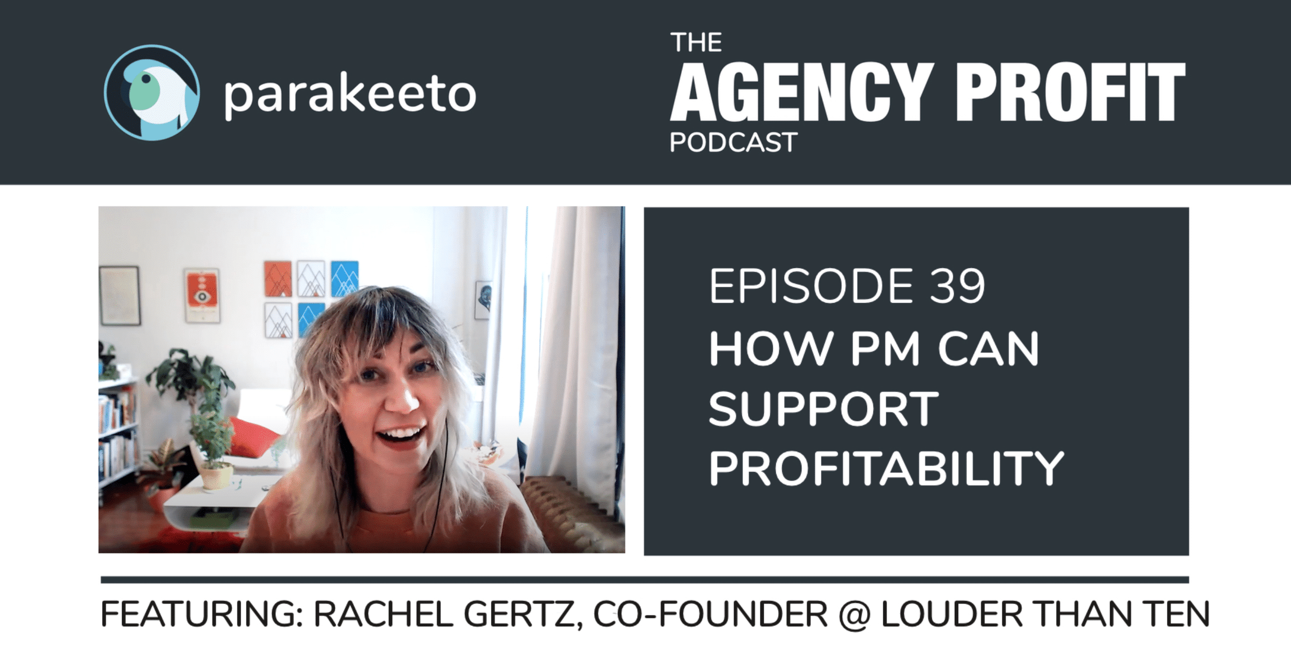 How Project Management Can Support Profitability, with Rachel Gertz – Episode 39.